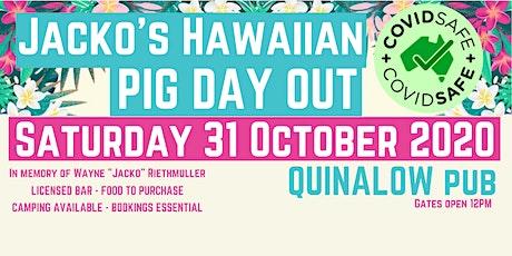 Jacko's Hawaiian Pig Day Out 2020 tickets