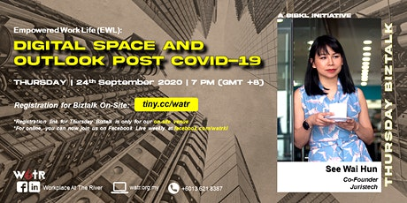 [ON-SITE] Empowered Work Life: Digital Space and Outlook Post COVID-19 tickets
