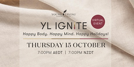 YL IGNITE AUS: Happy Body. Happy Mind. Happy Holidays! tickets