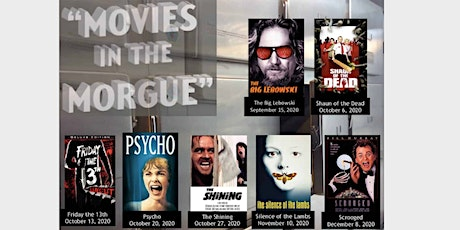 Movies in the Morgue: Oct. 13th - Friday the 13th tickets
