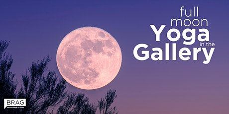 Full Moon Yoga in the Gallery tickets
