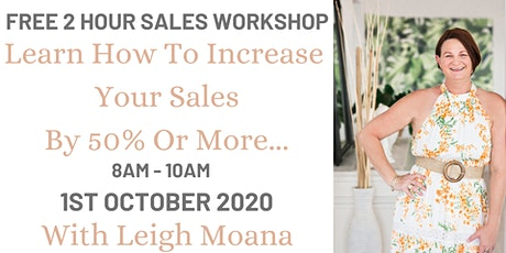 Strategies That Sell  Workshop tickets