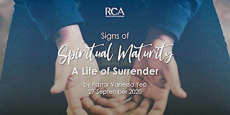 RCA Sunday Service 27SEP 10.45AM tickets