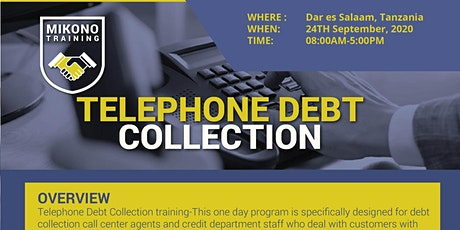 Telephone Debt Collection Course tickets