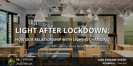 IG VISION Australia | Light After Lockdown tickets