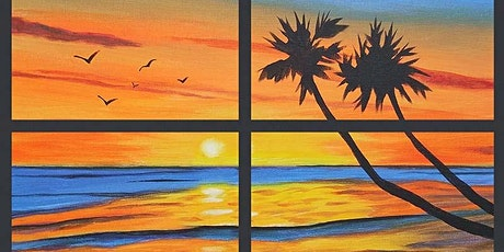 """Paint & Brews - """"Ocean View""""  Thorn St Brewing  Mission Hills tickets"""