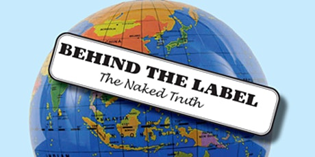 Behind the Label: the naked truth tickets