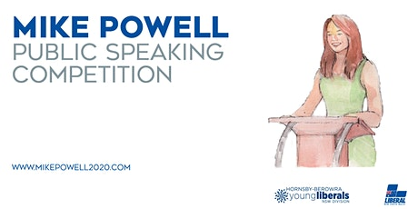 Mike Powell Public Speaking Competition 2020 tickets