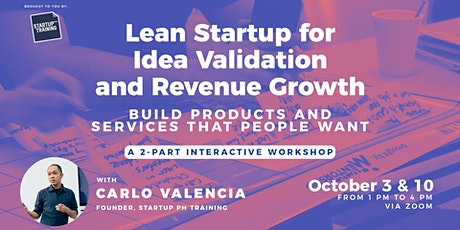 Lean Startup for Idea Validation and Revenue Growth tickets
