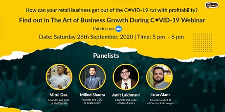 The Art of Business Growth During COVID: The Retail Industry tickets