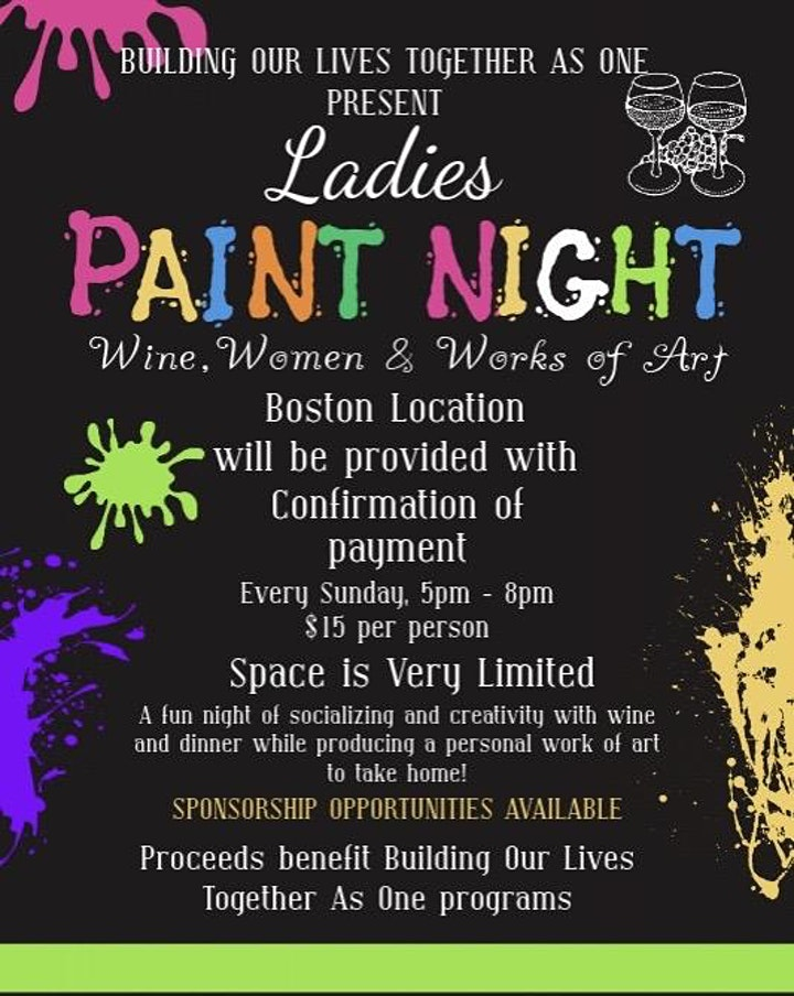 Ladies Paint Night image