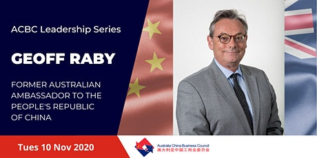ACBC Leadership Series - Geoff Raby tickets