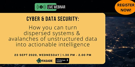 Cyber & Data Security - Learn how to protect your company and your data tickets