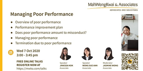 MWKA Online Talk: Managing Poor Performance tickets