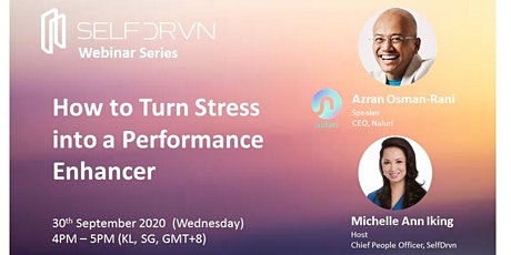 How to Turn Stress into a Performance Enhancer tickets