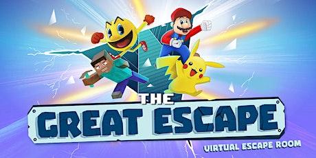 THE GREAT ESCAPE - Kids Virtual Escape Room! tickets