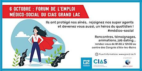 Forum de l'emploi médico-social du CIAS Grand Lac billets