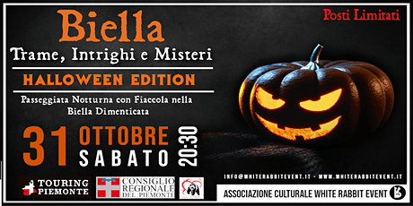 BIELLA: Trame, Intrighi e Misteri - Halloween Edit tickets