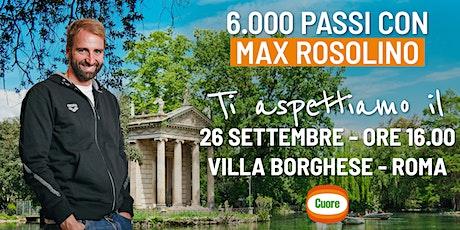 6'000 passi con Massimilano Rosolino e Olio Cuore a Roma biglietti