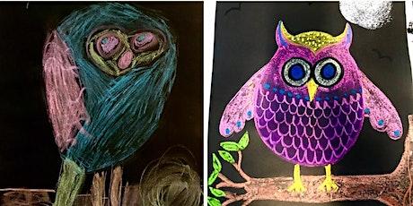 Chalk Pastel Owl tickets