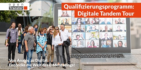 openTransfer #Patenschaften: Digitale Tandem Tour 2020 Tickets