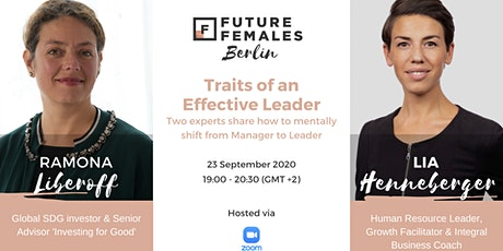 Traits of an Effective Leader | Future Females Berlin tickets