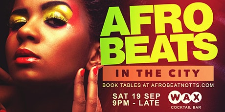 Afrobeats in the City. tickets