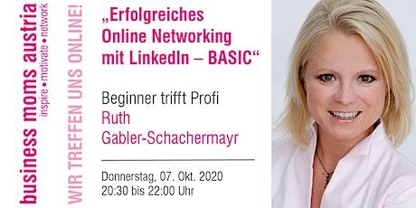 Erfolgreiches Online Networking mit LinkedIn – BASIC Tickets