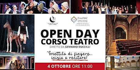 OPEN DAY Corso di Teatro Gennaro Duccilli alla Casa delle Culture biglietti