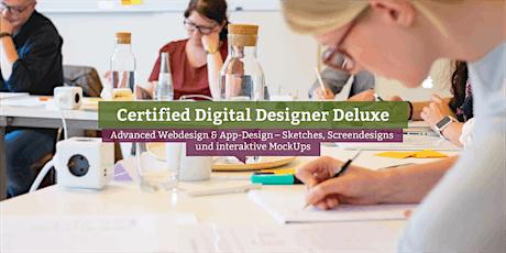 Certified Digital Designer Deluxe, Online Tickets