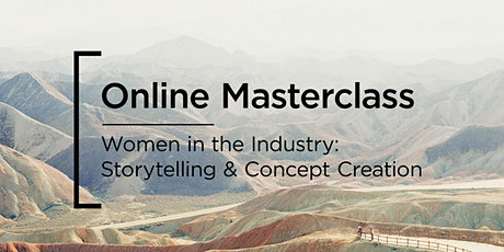 Online Masterclass | Panasonic | Storytelling & Concept Creation tickets