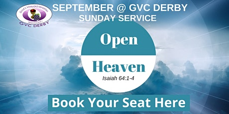 GVC Derby Sunday Service (20th September 2020) | 10:00am-12:00pm tickets