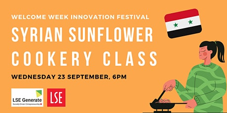 Welcome Week -  Cookery Class with Migrateful tickets