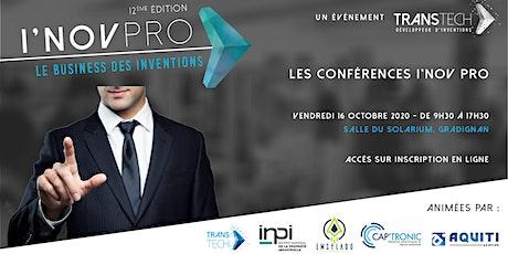 I'NOV PRO 2020 - Conférences thématiques sur l'innovation billets