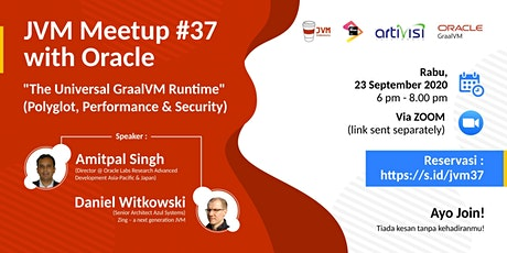 JVM Meetup #37 with Oracle GraalVM tickets