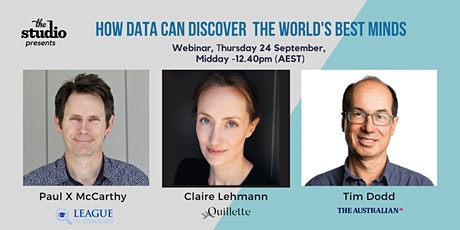 How Data Can Discover the World's Best Minds Tickets