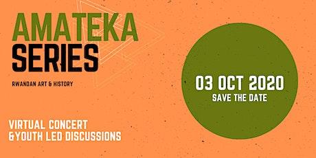 Rwandan Art & History: Amateka Series (FREE EVENT) tickets