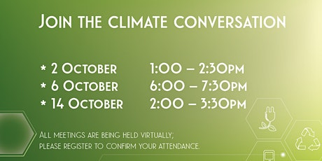 Climate Change Strategy Consultation tickets