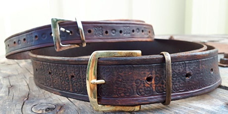 Introduction to Leatherwork- Belt Making tickets
