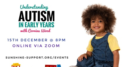 Autism in Early Years - Webinar tickets