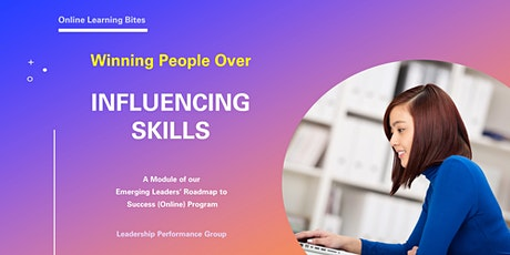 Winning People Over: Influencing Skills (Online - Run 12) tickets