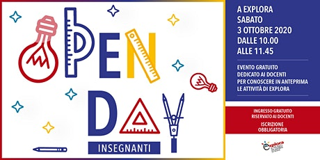 Open Day insegnanti 2020 @Explora tickets