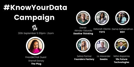 YSYS Advocates: #KnowYourData Campaign tickets