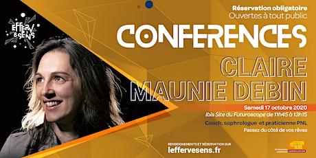 Efferv&Sens 3 - Conférence de Claire Maunie Debin billets