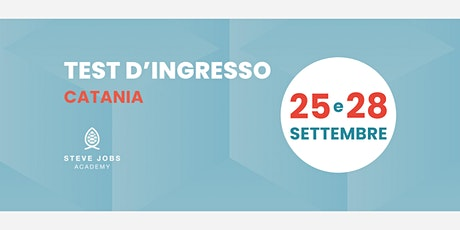 Esame di Selezione al corso di Development & Data Analysis di Catania biglietti