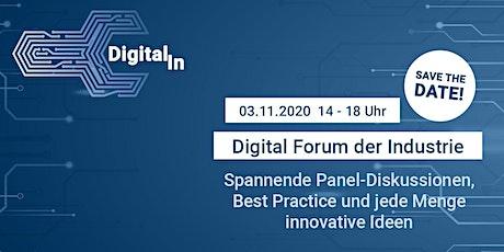 Digital[IN] - Digital Forum der Industrie 2020 Tickets