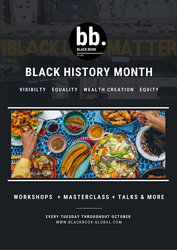 Black Book presents: Black History Month 2020 image