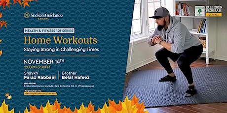 Home Workouts: Staying Strong in Challenging Times tickets