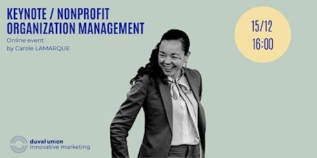 Keynote / Nonprofit Organization Management tickets