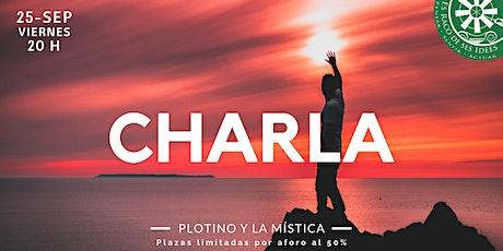 Charla-coloquio: Plotino y la mística entradas